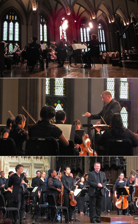 JSO Performs for Trinity Wall Street's Concerts-at-One